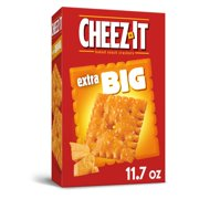 Cheez-It, Baked Snack Cheese Crackers, Extra Big, 11.7 Oz