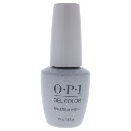OPI GelColor Gel Nail Polish, Pirouette My Whistle, 0.5 Fl Oz Silver Staining Gel