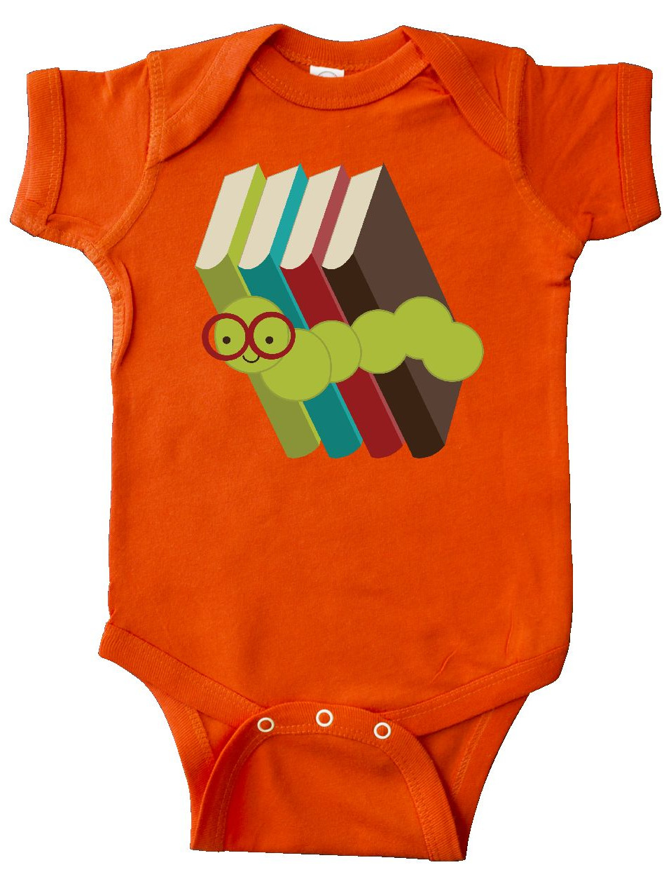 Bandcey Bookworm Books Reading Infant Creeper