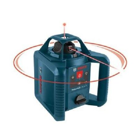 Factory-Reconditioned Bosch GRL240HVCK-RT Self-Leveling Rotary Laser Level Kit (Refurbished)