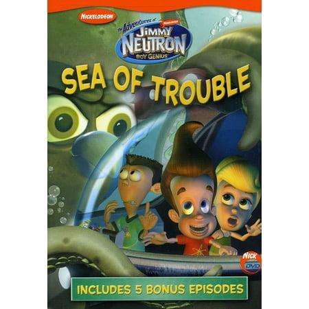 The Adventures of Jimmy Neutron: Boy Genius: Sea of Trouble (DVD) (The Adventures Of Jimmy Neutron)