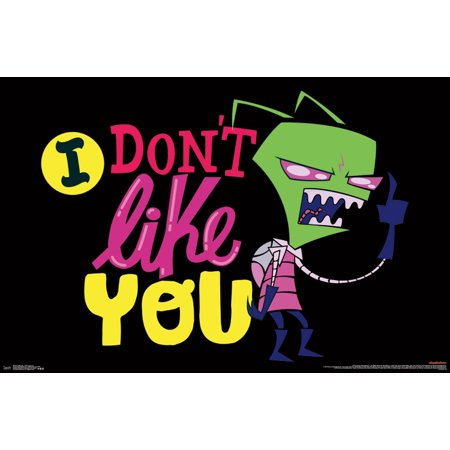 Trends International Invader Zim I Don't Like You Wall Poster 22.375