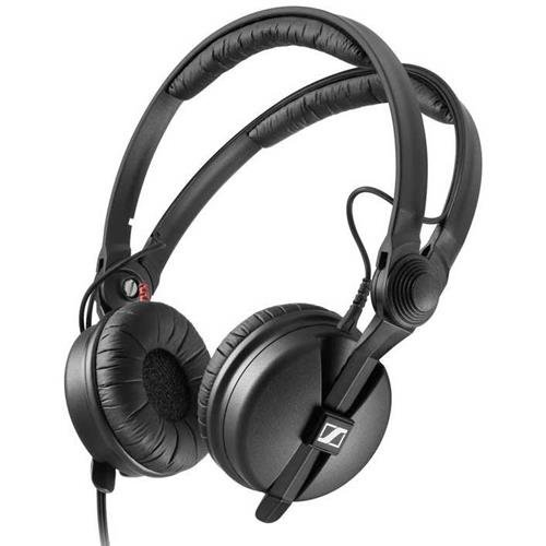 Sennheiser HD 25 PLUS On-Ear Closed Back Monitor DJ Headphones by Sennheiser