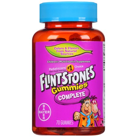 Flintstones Children's Complete Multivitamin Gummies, 70 Count - The Flinstones Bam Bam