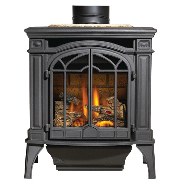 Click here to buy GDS25NSB Napoleon Cast-Iron Gas Stove, Black by Napoleon.