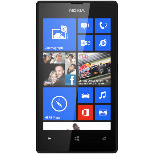 Refurbished Nokia Lumia 520 RM-915 GSM Smartphone (Unlocked), Black
