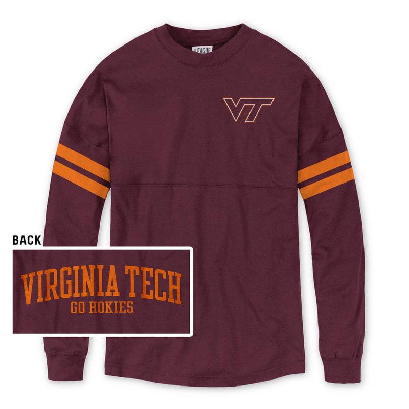Virginia Tech Hokies Women's Long Sleeve TShirt Maroon S by