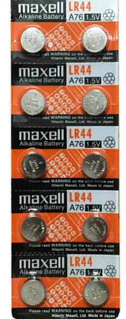 AG13 BATTERIES 26 Pcs HOLOGRAM MAXELL LR44