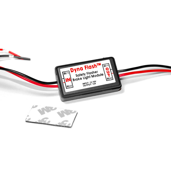 Brake Taillight Flasher Rear Alert Back Off Light For Honda Helix Ruckus Reflex Elite Silver Wing - image 1 of 4