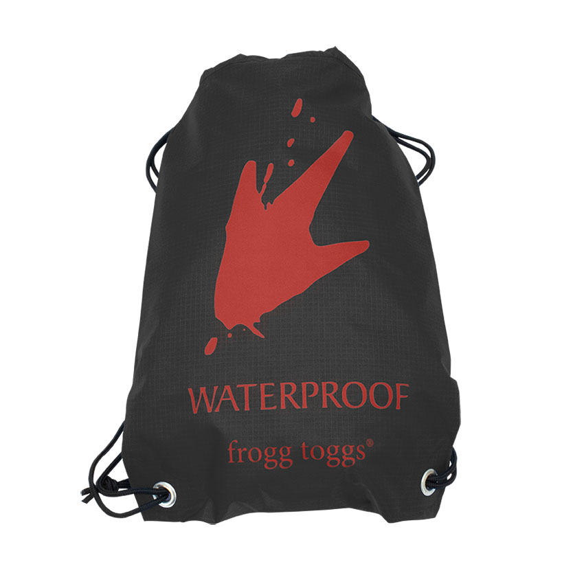 Frogg Toggs FTX Gear Waterproof Cinch Sack Charcoal