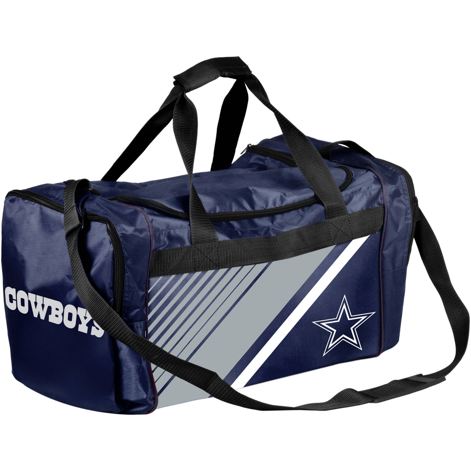 Forever Collectibles - NFL Dallas Cowboys Border Stripe Duffle Bag