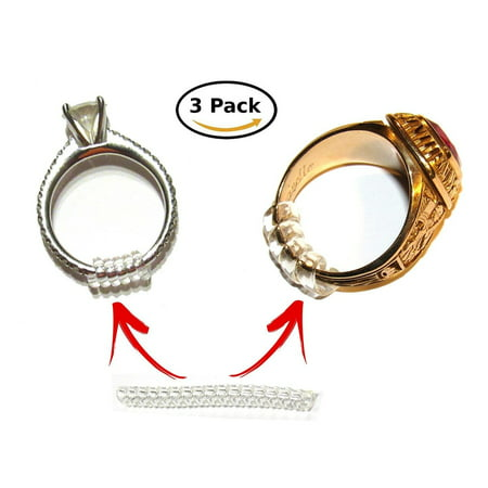 Easy Ring Adjusters - Quickly fit the size of your ring / band (3 sizes included) ()