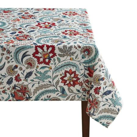Better Homes & Gardens Boho Jacobean Tablecloth, 60