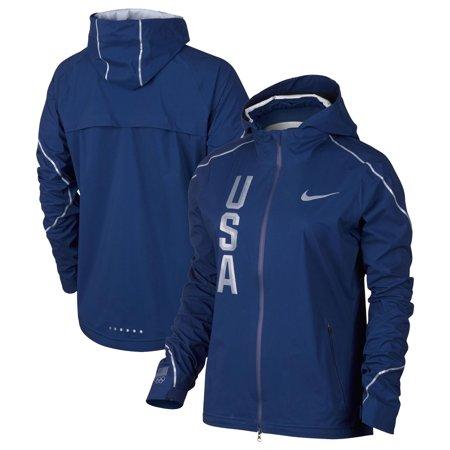 Team USA Nike Women's Hyper Shield Full-Zip Jacket - Navy ()