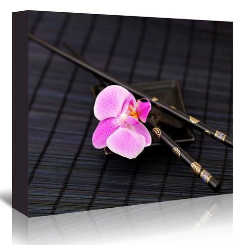 East Urban Home 'Zen Orchid' Photographic Print on Wrapped Canvas