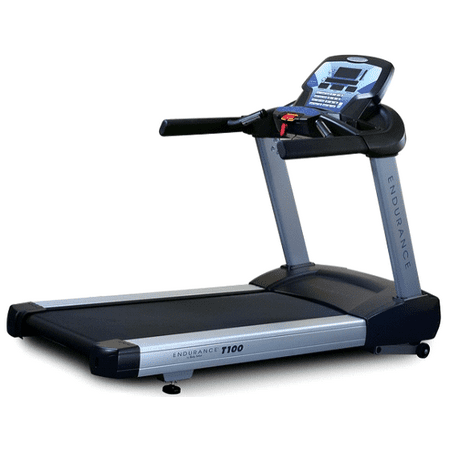 Body Solid T100 Endurance Cardio Commercial Walking Treadmill w/ LED
