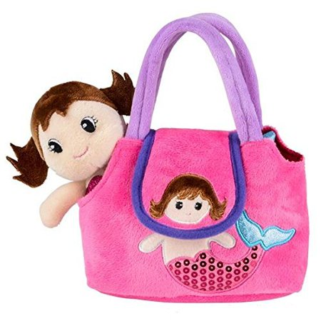 Neliblu My First Purse - Pretend Play Mermaid Adventure Playset for Little Girls - with Handbag and Mermaid Doll](Little Mermaid Accessories)