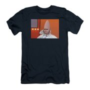Saturday Night Live Men's  The Conehead Slim Fit T-shirt Navy
