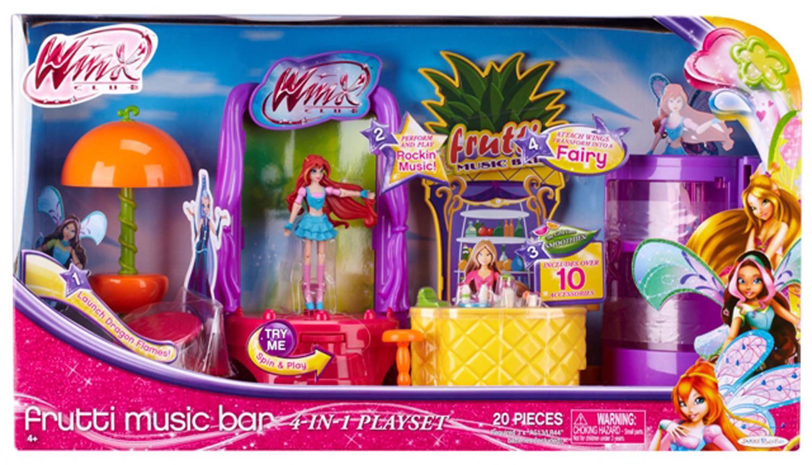 Winx 3.75 Frutti Music Bar with Bloom