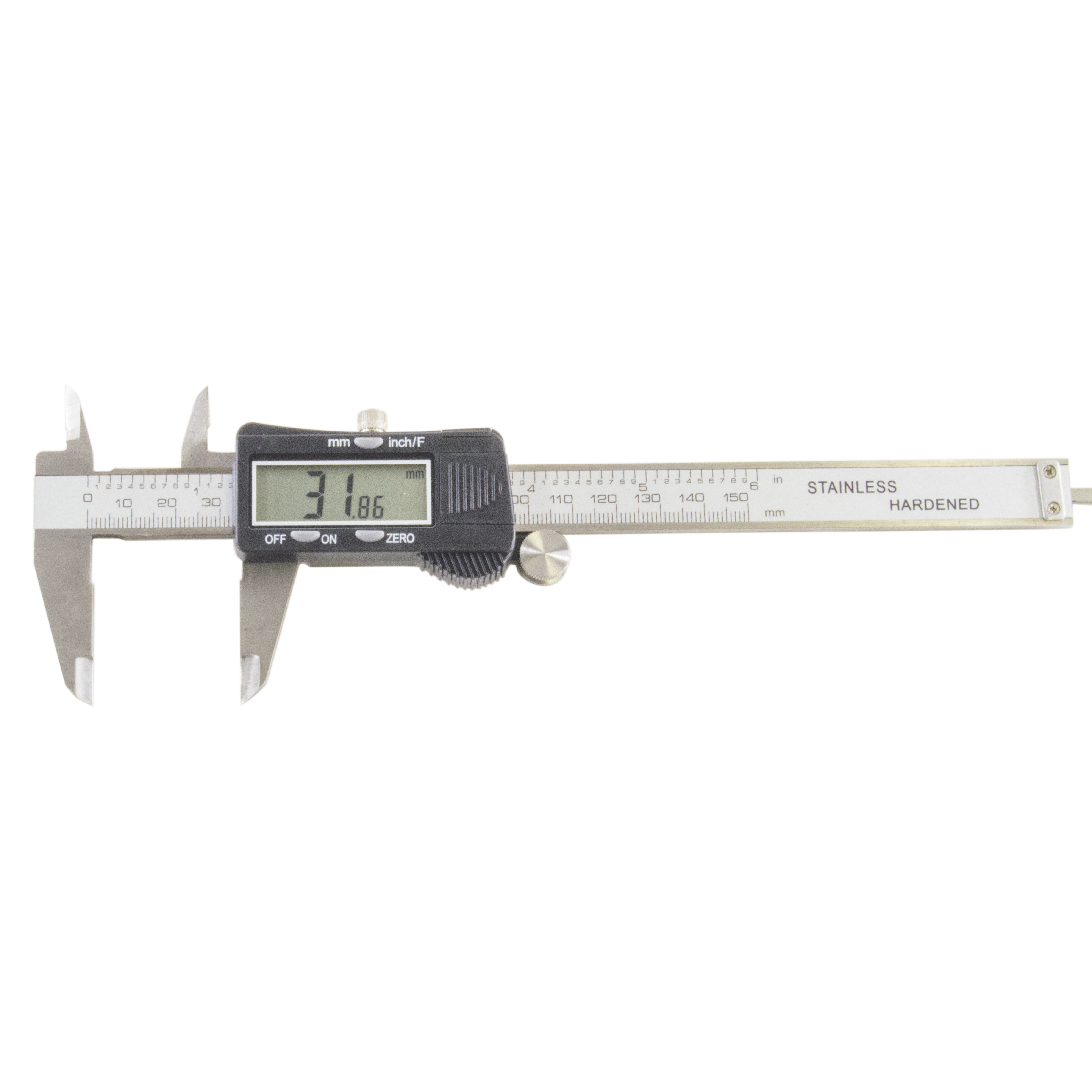 Performance Tool W80152 Electronic Digital Caliper with Extra Large LCD Screen 6