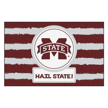 NCAA Mississippi State University Bulldogs Starter Mat Rectangular Area Rug