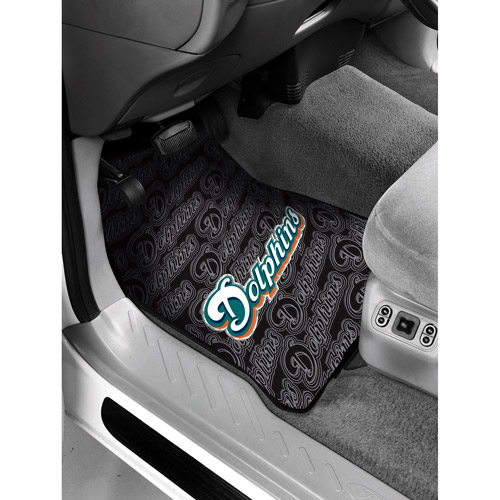 NFL - Miami Dolphins Floor Mats - Set of 2