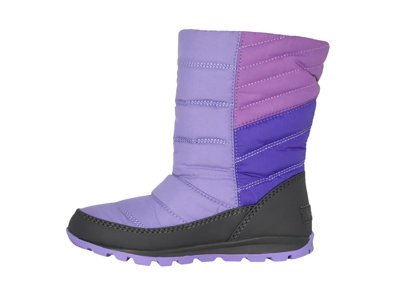 Kids Sorel Girls Whitney Mid Mid-Calf Pull On Snow Boots
