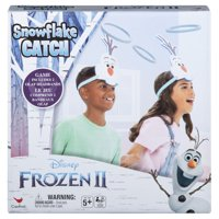 Disney Frozen 2 up and Active Olaf Snowflake Catch Game for Kids and Families