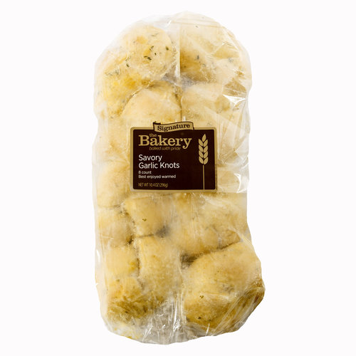 Wenner Bread Products Take and Bake Savory Garlic Knots, 8ct