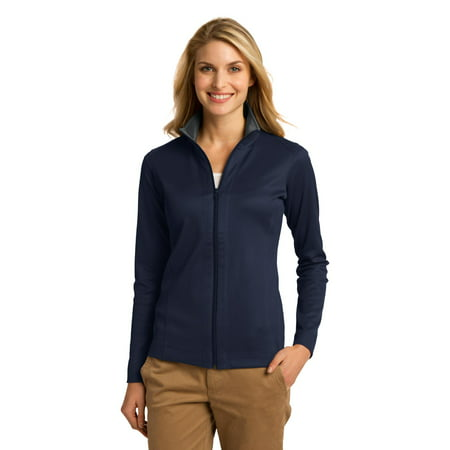 Port Authority Ladies Vertical Texture Full-Zip Jacket