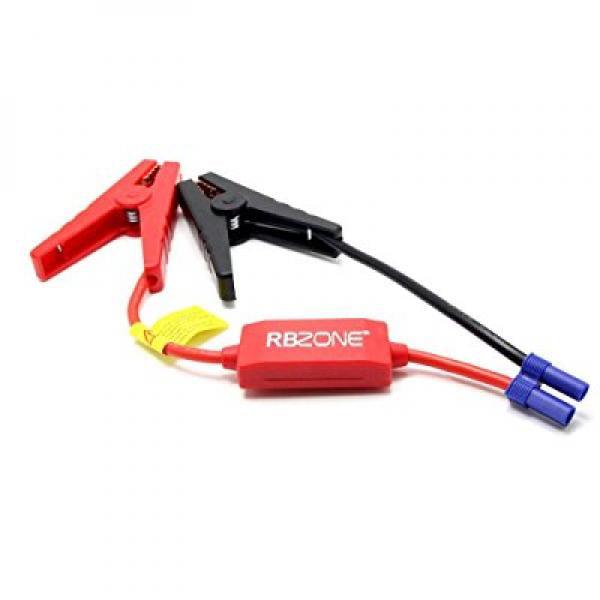 Jumper Cables for car Battery Koshore Booster Jupmper Cables Automotive Replacement Jump Starter EC5 Connector Emergency Jumper Cable Alligator Clips for 12V Portable Car Jump Starter