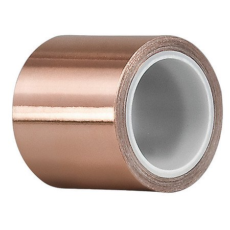Tapecase 15D563 1/4 In. x 6 Yd. Foil Tape, Copper Burnished Bronze Crystal Type