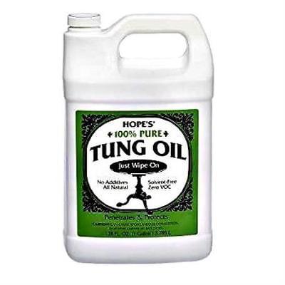 Tung Oil, 100% Pure ~ One Gallon