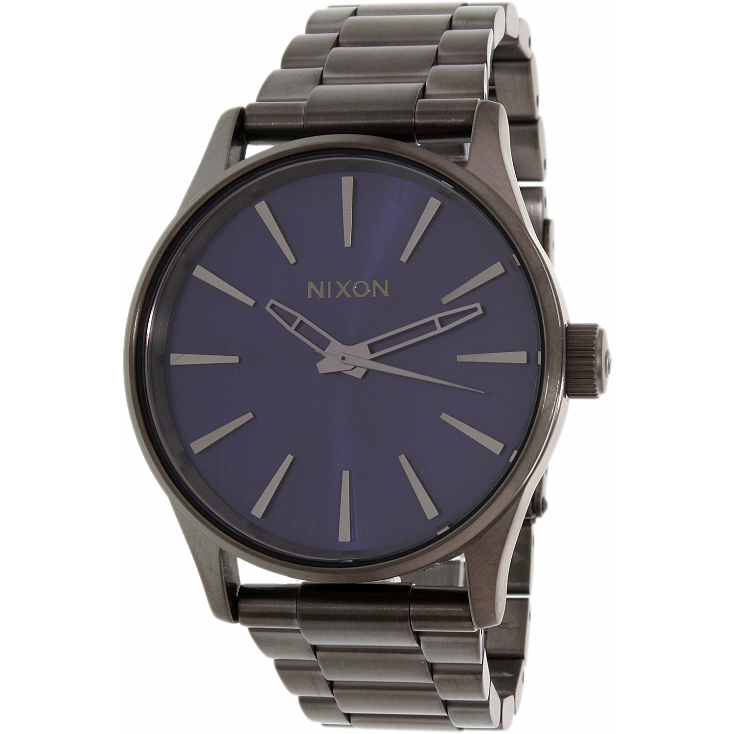 Nixon Men's Sentry 38 Ss A4502065 Gunmetal Stainless-Stee...