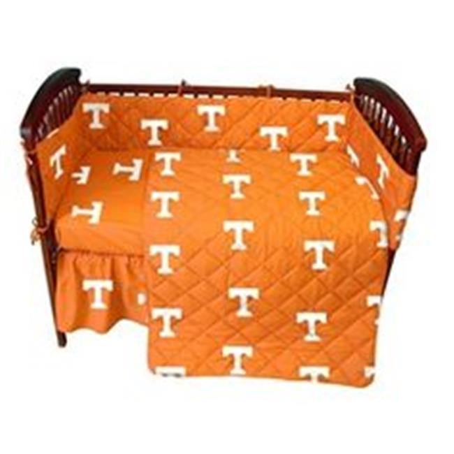College Covers TENCSFSWPR Tennessee Volunteers Baby Crib Fitted Sheet Pair, White