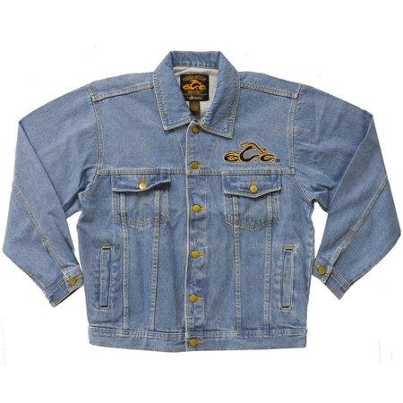 Orange County Shields (Orange County Choppers - Orange Logo Denim Jacket)