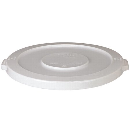 Continental Commercial 0298984 Heavy Duty Huskee Round Lid with Hole, for Use with NO 3200bl 32 gal Recycle Container, Plastic Continental Round Huskee Container