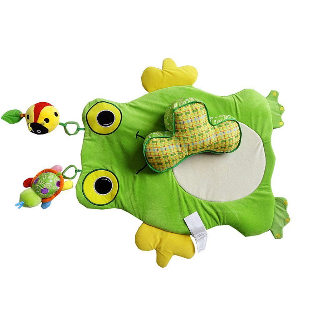 Baby Gym Activity Rug Frog Playmat Carpet Lovely Cartoon Animal Designs Area Rugs Bedroom Living Room Carpet Mat Baby Crawling Mats Kids Play Mat Cute Animal Shape