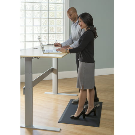 Imprint Uluspro Commercial Grade Standing Desk Anti Fatigue Mat 24 In X 36 3 4 Black