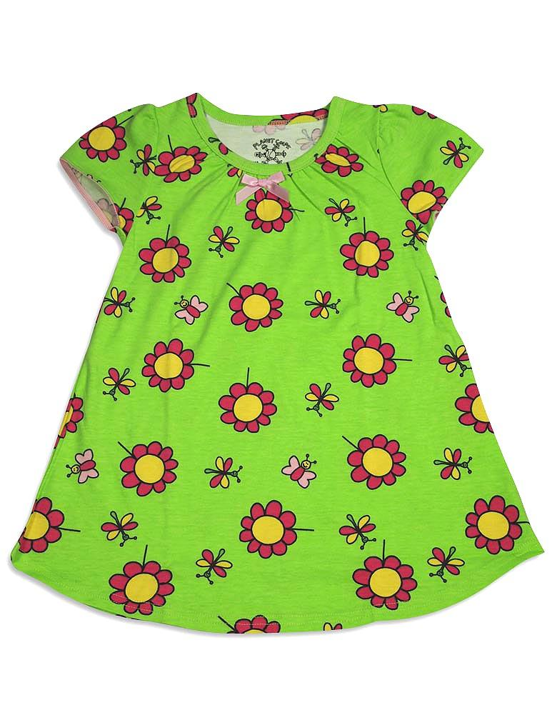 Planet Color by Todd Parr Little Girls Short Sleeve Nightgown