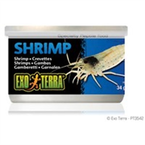 Exo Terra Canned Shrimps F/Turtles1.2oz