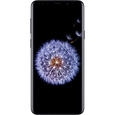 Walmart Family Mobile Samsung Galaxy S9 Plus LTE Prepaid Smartphone, Black (Virgin Mobile Touch Screen 5 Inch)