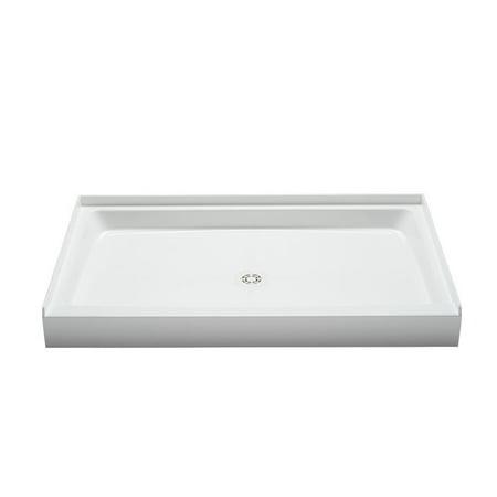 PROFLO PFSB5434 Single Curb Rectangular Shower Pan (54