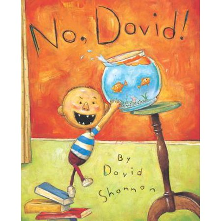 David New Book - No, David! (Hardcover)
