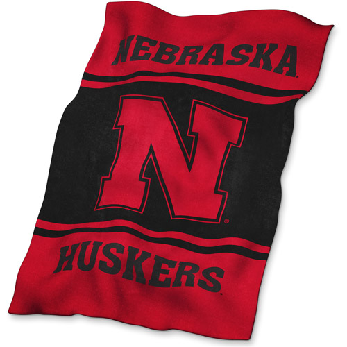 Logo Chair NCAA Nebraska UltraSoft Blanket