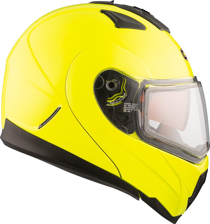 CKX Solid Tranz 1.5 RSV Modular Helmet, Winter Double Shield