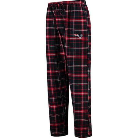 New England Patriots Concepts Sport Ultimate Plaid Flannel Pajama Pants - Navy ()