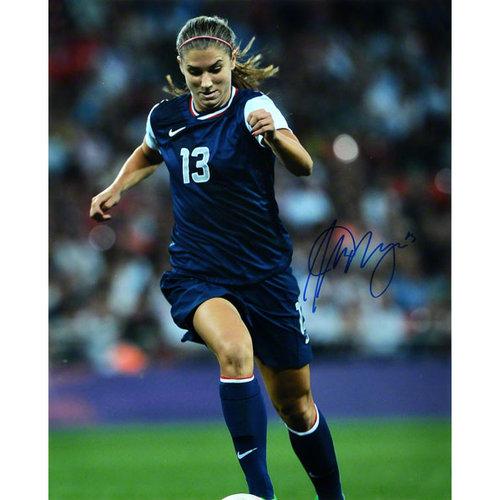 Alex Morgan Autographed 16x20 Photograph | Details: Team USA Soccer, 2012 Olympics