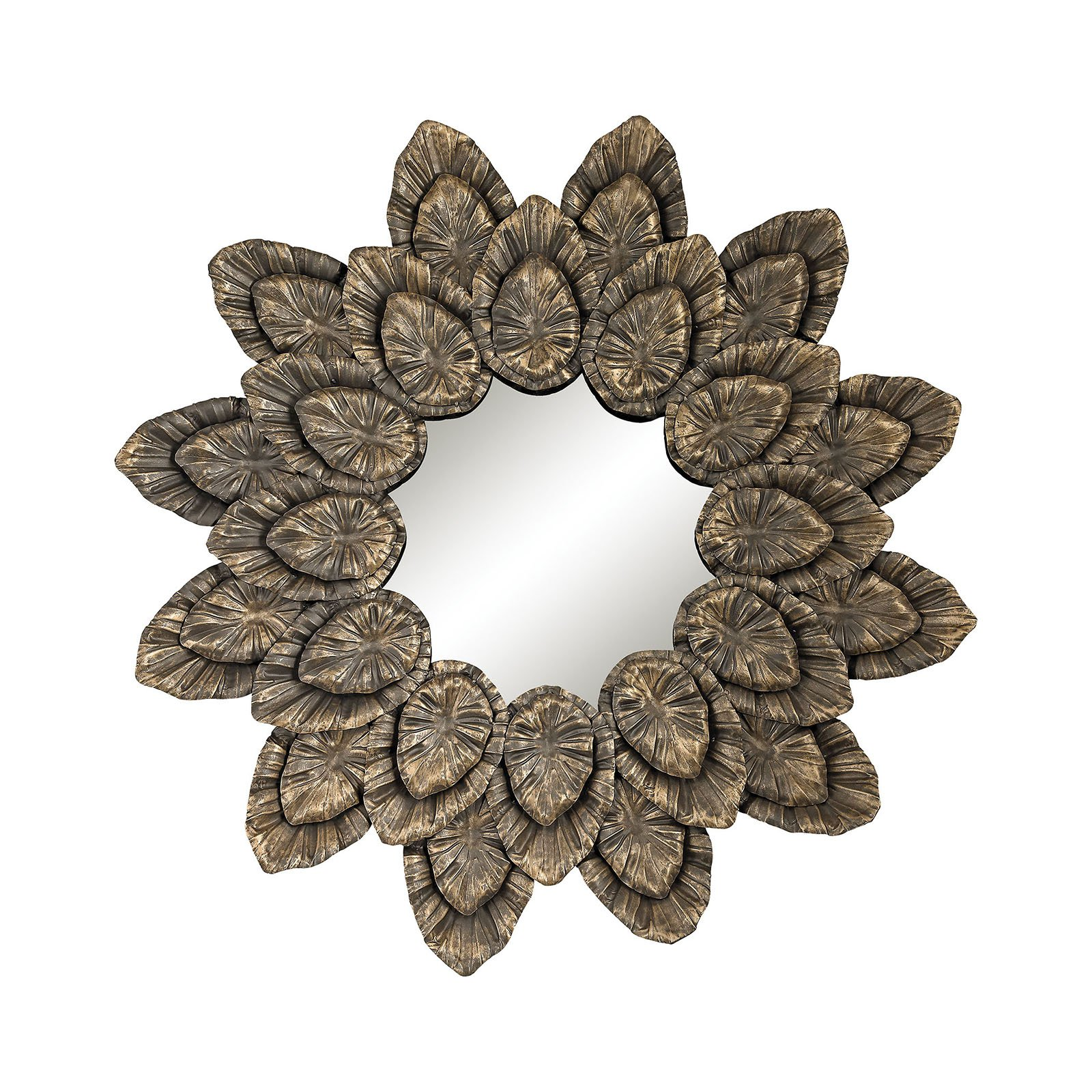 Dimond Home Metallic Petal Surround Wall Mirror - 42 diam. in.