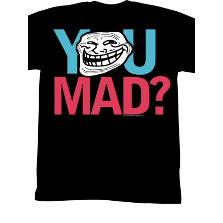 U Mad  You Mad Bro  Meme Gif Trending Merica You Mad  Adult T Shirt